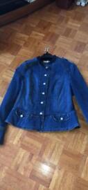 Ladies size 16 denim jacket