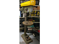 WARCO Floor Standing Pillar Drill Single Phase