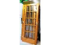 3 Oak internal doors