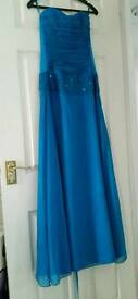 Blue formal dress needs gone asap