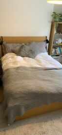 Great double bed for sale - must go this week - bought for £129