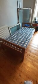 Free! Single bed with matress, collection only