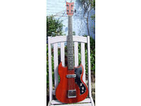 Kay SG Style Short-Scale Bass 1968 with - vintage tone - Wild Thing