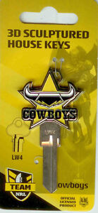 2011-NRL-Club-3-Dimension-House-Key-Blank-Cowboys