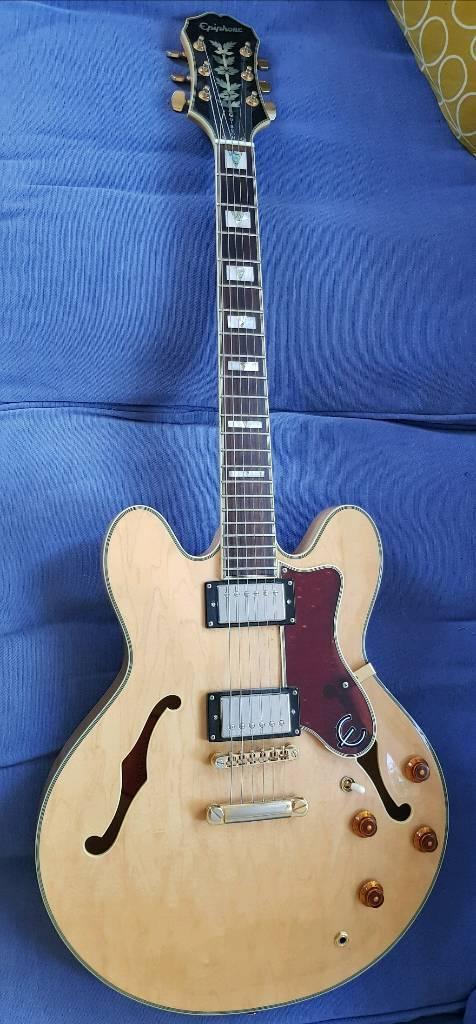 Epiphone Sheraton Korean with Gibson 57 pickups  | in Norwich, Norfolk |  Gumtree