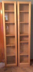 Ikea bookcases/display units