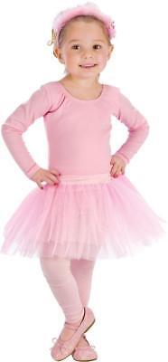 Kleinkind Kind Pink Ballerina Tutu Kostüm Zubehör ()