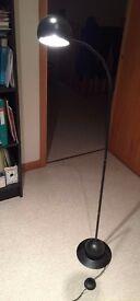 Ball Floor Lamp (black)