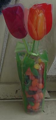 Jelly Bean Tulip Gift Bag - SUPER CUTE TULIP BAG - REFILLABLE - GREAT FOR EASTER