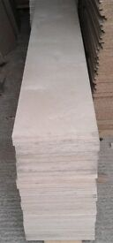 4 Pieces of NEW Top Quality Russian Birch B/BB Grade Plywood 48mm 8ft x 13¾in (2440mm x 350mm)
