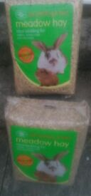 SMALL ANIMAL BEDDING MEADOW HAY X 2 PACKS