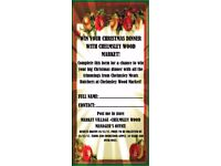 Win your Christmas Dinner with Chelmsley Wood Market!