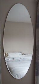 Large Bevelled Oval Mirror - IKEA