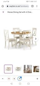 Dining table set /4 chairs
