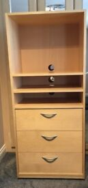 *** BEDROOM / DINING ROOM TV UNIT WITH STORAGE ***