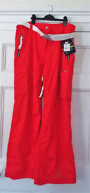 BNWT Trespass Ladies Superstar high tec Trousers Size XXL Colour: Fire