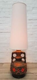 West German Table Lamp (DELIVERY AVAILABLE)