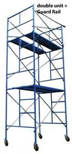 BRAND NEW SCAFFOLDING LADDER FRAME COMPLETE UNIT (CASTORS AND RUNNING BOARD INCLUDED)