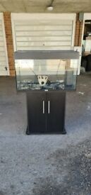 Juwel rio 125 litre fish tank and cabinet London Same Day Delivery