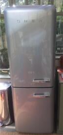 SOLD 19.07 SMEG Fridge Freezer for repair or spares