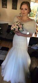 REDUCED! Suzanne Neville Wedding Dress