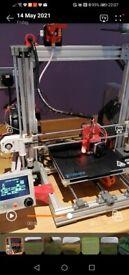 Anet AM8 3D Printer £100 (mods & extras)