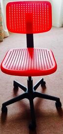Adjustable Red Chair