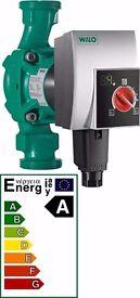 Wilo Yonos Pico 4164018 25/1-5 High Efficiency Circulating Heating Pump 6mtr, Better Than Grundfos