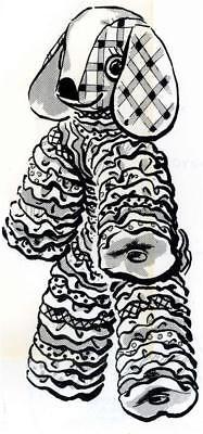 Toy Dog Pattern 5530 Yo Yo Puppy Dog Pattern 1960s Floppy Ears](Yo Dog)