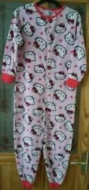 Next Hello Kitty onesie age 10 years