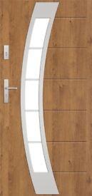 EXTERNAL COMPOSITE FRONT STEEL DOOR T 44 S 42WITH DOOR FRAME MADE IN EU