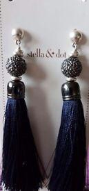 Stella and Dot Trove Tassle earrings