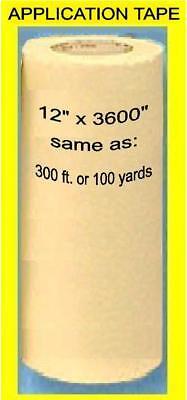 12 Application Transfer Paper Tape 300 Roll For Vinyl Cutter Plotter 100 Yd