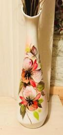 Hand crafted tall vases
