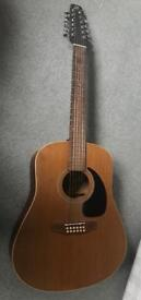 Seagull acoustic 12 string guitar