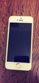 IPhone 5s, gold 16 gig