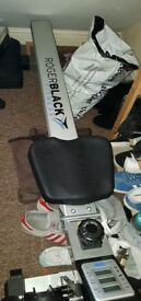 Like new Roger black rowing machine