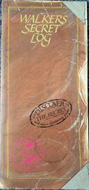 Vintage 1980's Walkers Crisps Secret Log puzzle books/book – post or collect