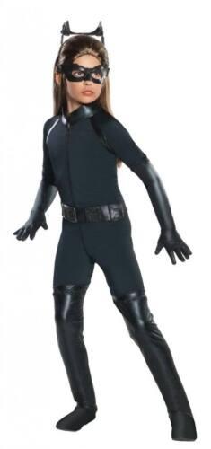 Girls Child Batman The Dark Knight Rises Deluxe Catwoman Jumpsuit Costume