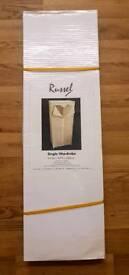 BRAND NEW Russel Beige Single Metal Frame Wardrobe | Leeds