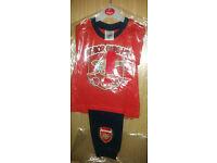 New Babys Arsenal Pyjamas