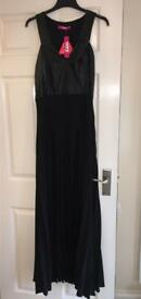 Black bnwt size 14 evening cocktail dress