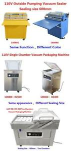 110V Single Chamber Vacuum Packaging Sealing Machine Vacuum Sealing Packaging Machine