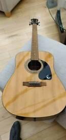 Epiphone 6 string acoustic guitar