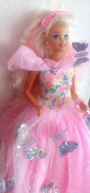 1994 BUTTERFLY PRINCESS BARBIE DOLL