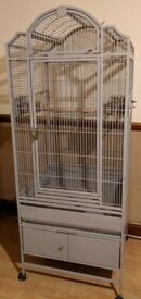 Montana Las Vegas II Parrot Bird Cage - Stone Colour