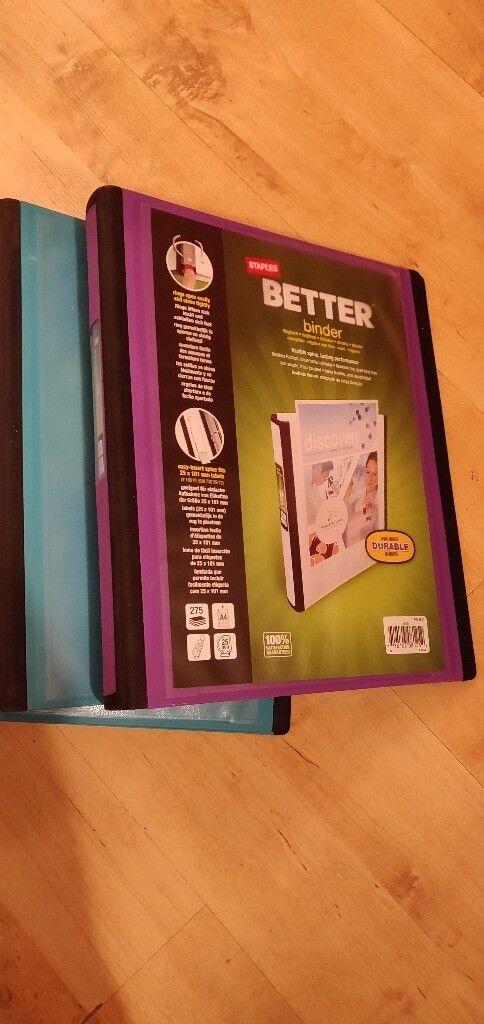 6 staples better binders ring binders in edgware london gumtree