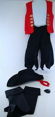 KID'S DRESS UP PIRATE SET HALLOWEEN COSTUME THEME PARTY AGES 3 & UP NIP ()