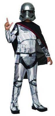 Jungen Kind Klassisch Kapitän Phasma Star Wars das Erwachen der Macht - Phasma Star Wars Kostüm