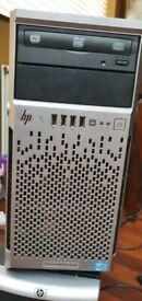 HP Proliant ML310e Gen8 Server Quad Xeon E3-1220v2 @ 3.1GHz 32GB